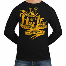 Wellcoda | NEW I'm In charge Of Mine Mens Womens S-2XL Long Sleeve T-Shirt *o499