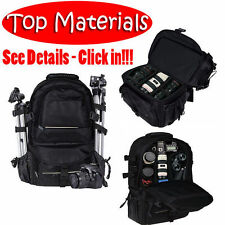 Universal DSLR SLR Camera Photography Backpack Accessories Components Equipment