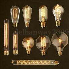 4/10x E27 B22 E14 40/60W Vintage Antique Edison Incandescent Glass Light 220V