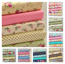 FAT QUARTER BUNDLE 100% Cotton fabric, Cath Kidston, Rose & Hubble