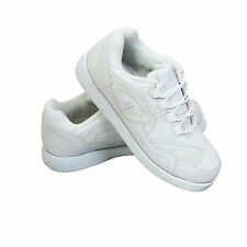 ACCLAIM Maestro Mens Lace Up Sports Trainer Style White Bowls Bowlers Shoes 6-12