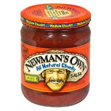 2 Pack Newman's Own Salsa 7 Flavor Choices 16oz Gluten Free Free Priority Ship