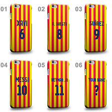 Personalised Customized Barcelona Soccer Team Third Jersey Hard Phone Case Cover
