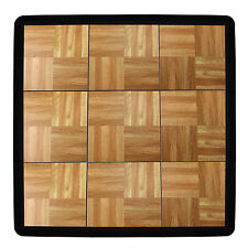 IncStores Tap Dance Set (9 Tiles, 3'x3' Total) Personal Flooring Kit With Edges