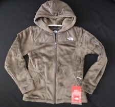 New The North Face Women's Oso Fleece Hoodie Jacket Weimaraner Brown Size S