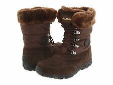 NIB Allrounder by Mephisto West Boots Size 6.5 7.5 Espresso Suede Brown $199
