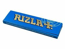 RIZLA Rolling papers Normal size (Blue) 2x50-5x50-10x50-100x50 full box