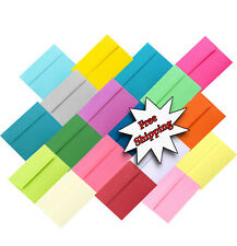 100 Boxed A2 A6 or A7 Envelopes for Invitation Shower Greeting Card Announcement