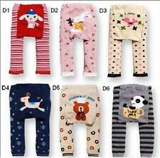 Infants Boys Girls Baby Clothes Tights Bottom Cute Animal Pattern