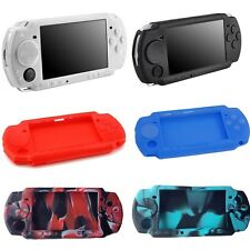 Silicone Rubber Gel Skin Case Cover Compatible With Sony PSP 2000 3000 US Seller
