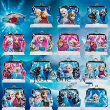 Frozen Elsa Anna Free Fall Girls Disney Coins Money Pouch Bag Boxes f. XMAS Gift