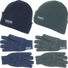 Jack Pyke One Size Thinsulate Hat and Pair of Gloves Set Winter Survival Xmas