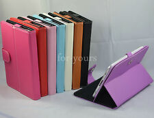 """Colorful Magic PU Leather Case Cover+Pen For 9"""" Le Pan Haier HG-9041 Tablet PC"""