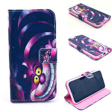 Love Pink Cat Flip Wallet Leather Case Cover FOR iphone Samsung HTC MOTO phones