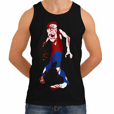 Wellcoda   NEW Fun Zombie Mousetrap Mens Womens Funny Tank Top *to9