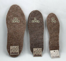 Alpaca Boot Inserts/Insoles - Sizes Medium, Large, XL - Made in the USA