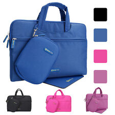 "Waterproof  Sleeve Briefcase Handle Case Bag w/ Pouch&Mouse Pad For 11.6"" Laptop"