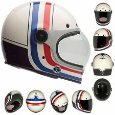 Bell Bullitt RSD Viva White Full Face Motorcycle Street Helmet All Sizes