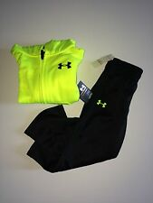 NWT Infant Boy's Under Armour Hoody and Pants 2 Piece Outfit