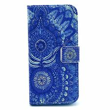New Flip Stand Hybrid Wallet Leather Case Cover For iphone Samsung MOTO phones