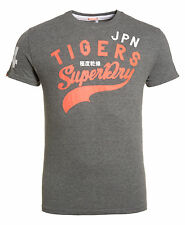New Mens Superdry Factory Second Sport Pitch T-Shirt Grey
