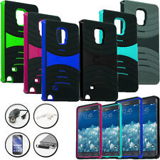 DUO LAYERED COVER WAVE STAND CASE for SAMSUNG GALAXY NOTE EDGE + ACCESSORY