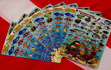 "Fish ID Reef Creatures cards 4x6"" Franco scuba diver snorkeler dive fish guide"