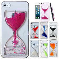 3D Cute Fun Crystal Clear Hourglass Hard Cover Case For iPhone Samsung Galaxy