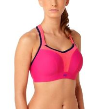 Panache Sports Bra 5021 Magenta Spot 83% Less Bounce Ultimate Support  r.r.p £38