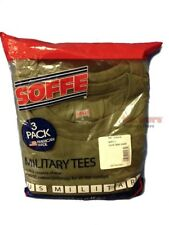 MILITARY USMC OLIVE DRAB GREEN M280 T-SHIRTS 3PK M L XL 2XL 50/50 POLY COTTN NEW
