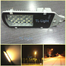 1~50p NEW 24W LED Street Light Road Outdoor Industrial Warm White 100-250V AC #2