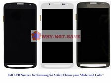 Full LCD Digitizer Glass Screen Display Replacement for Samsung Galaxy S4 Active