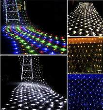 96 220 880 LED Bulbs Mesh Net String Christmas Party Wedding Decoration Lights