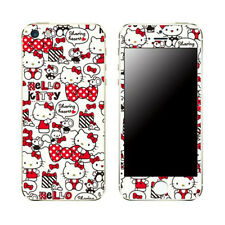 Skin Decal Stickers iPhone Galaxy Universal Mobile Phone Hello Kitty Ribbon Girl