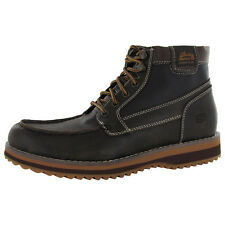 Skechers Mens 63932 Ridge Logano Leather Ankle Boot