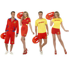 Baywatch Beach Lifeguard Fancy Dress Costume 80s 90s TV Celebrity Fast Delivery