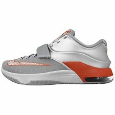 Nike KD VII 7 EP Texas Wild West Silver Orange Air Kevin Durant Basketball Shoes
