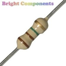 50x Carbon Resistors 0.25W - All Values Available - 1st Class Post (Resistor)