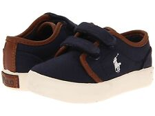 POLO RALPH LAUREN 990668T ETHAN LOW EZ Babies Boys Casual Street Shoes Velcro