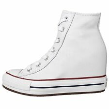 Converse Chuck Taylor All Star Platform Plus White Womens Wedges Casual Shoes