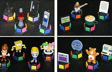 Trivial Pursuit Game Parts novelty miniature figure game token set Your Choice