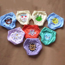 Pocket Diaper Animal Knickers Baby Potty Training Toddler Reusable 4 Layers