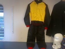 KIDS OVERALLS (RACING STYLE SUIT) HIGH QUALITY 2 COLOUR farm go kart 7 race f2