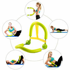 Portable Ab Roller Crunch Home Gym Master Thigh Exercise Body Toner Fitness
