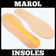 THIN LEATHER INSOLES SHOE INSERTS PADS BOOTS 1 Pair