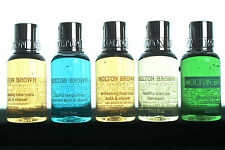 MOLTON BROWN BODY WASH /BATH SHOWER 30ML X5 IDEAL GIFT FOR HIM OR HER NEW STOCK
