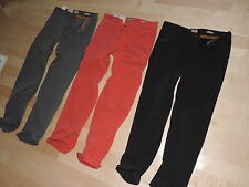 Hugo Boss Casual Pants 100% Cotton Gray Red Black Regular Fit 30 31 32 33 34 36