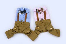 England braid strap pants for your cute Dog free ship dogs clothes
