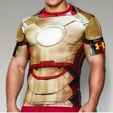 ** IRON MAN ** Under Armour Men's Alter Ego Compression Shirt All Sizes NWT