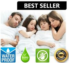 Hypoallergenic Waterproof Bed Bug Zipper Mattress Cover Protector Encasement Pad